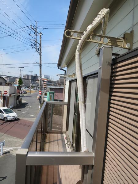 第2田中コーポのバルコニー画像
