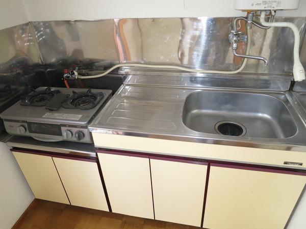 第2田中コーポのキッチン画像