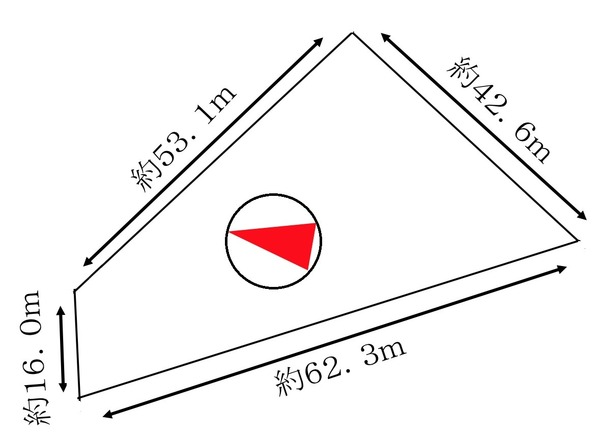白川1814番439 土地