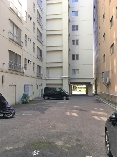 マジソンハイツの駐車場画像