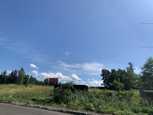 虻田郡ニセコ町字福井・土地の現地土地写真画像