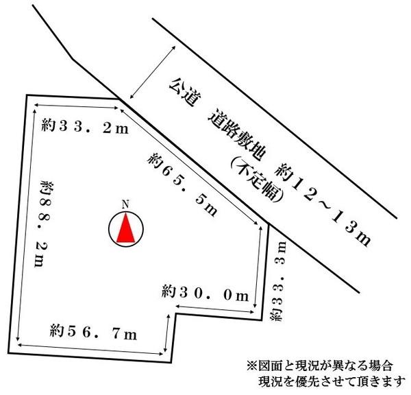 虻田郡ニセコ町字福井・土地の間取り画像
