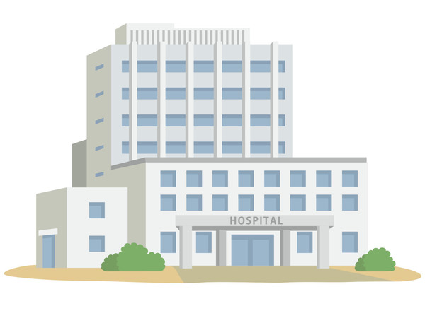 糸島市高上字深坂土地の病院画像