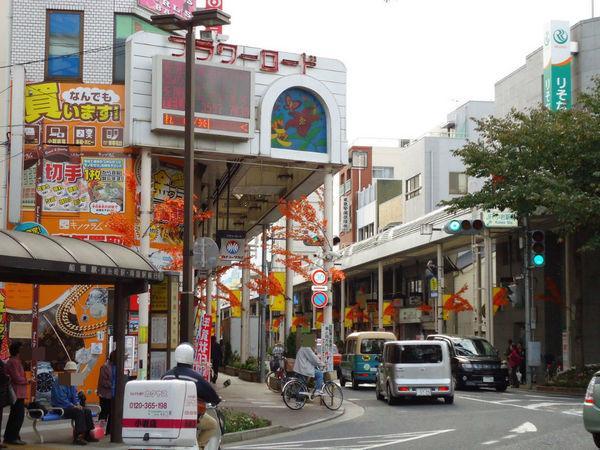 川野コーポの商店街画像