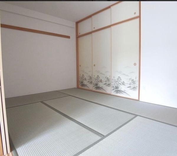 ローレルスクエア白庭台2番館の和室画像