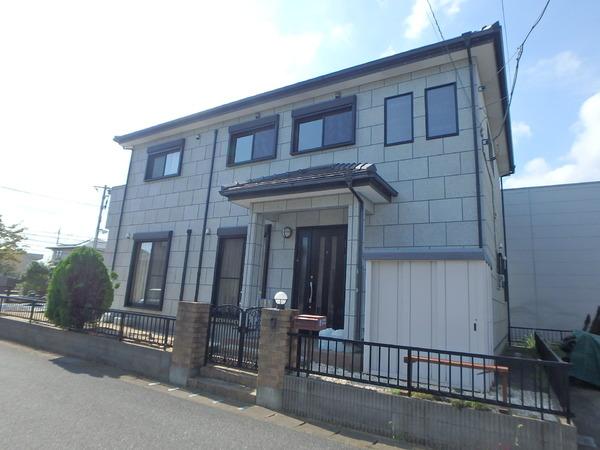中古戸建・東金市・東上宿の前面道路含む現地写真画像