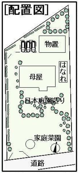 成田市 十余三の区画図画像