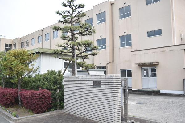 浜松市中区野口町の土地の中学校画像