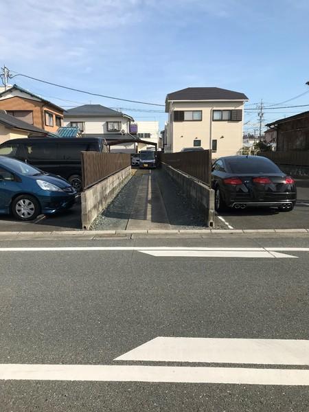 浜松市中区野口町の土地の前面道路含む現地写真画像