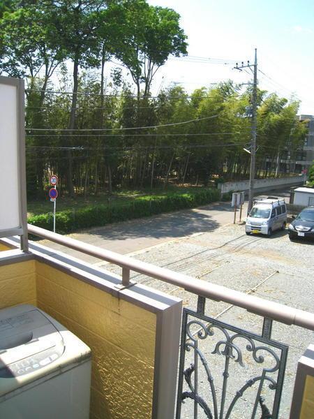 レオパレス上尾第7の現地からの眺望画像