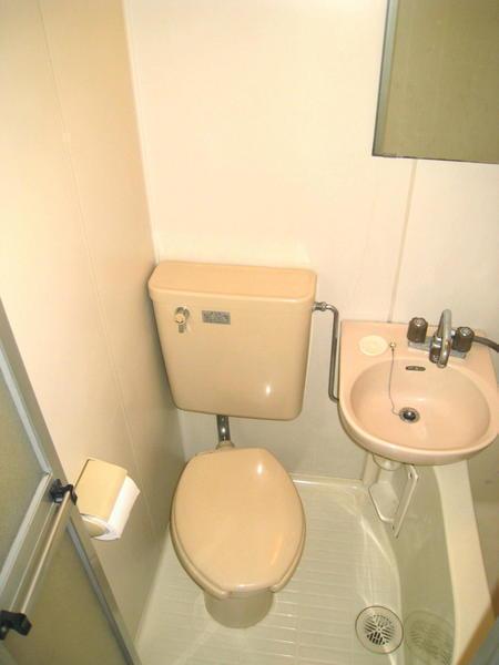 レオパレス上尾第7のトイレ画像