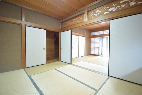 上戸建の和室画像