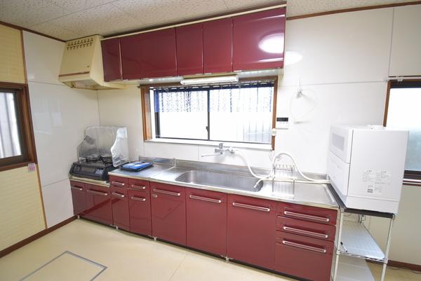 上戸建のキッチン画像