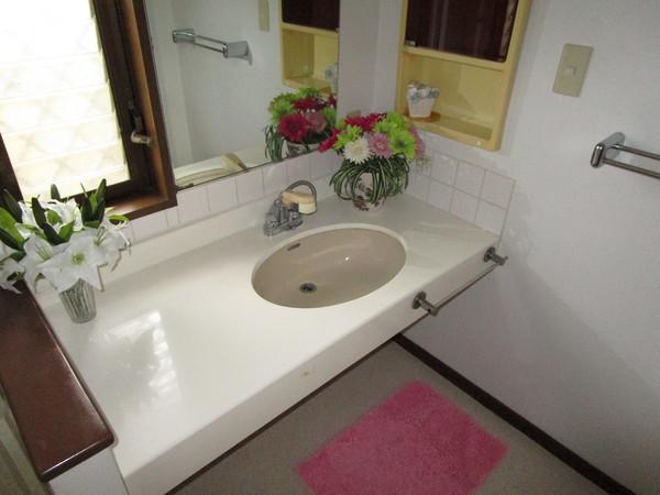 奈良市左京1丁目 中古一戸建の洗面台・洗面所画像