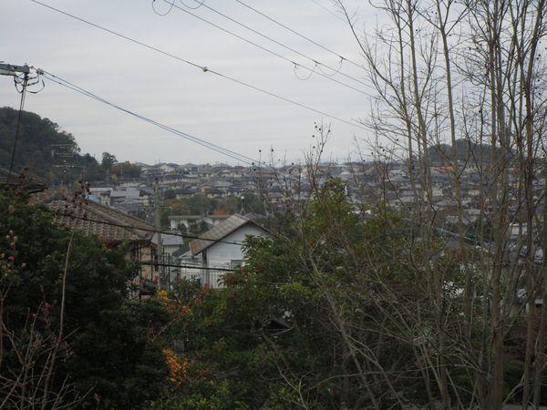 奈良市左京1丁目 中古一戸建の現地からの眺望画像