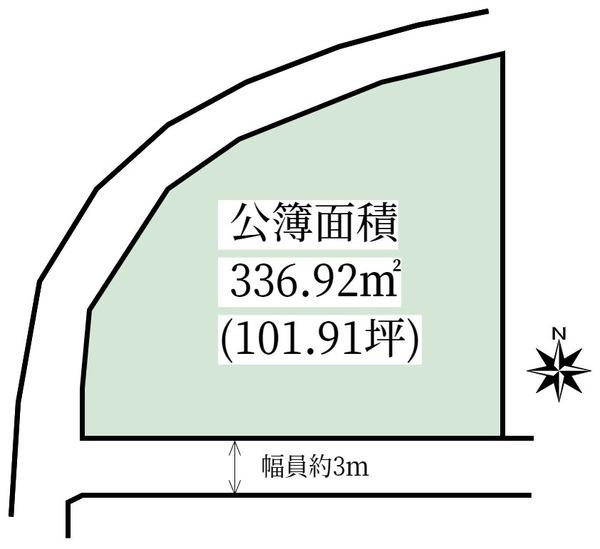 奈良市法華寺町 売土地 土地