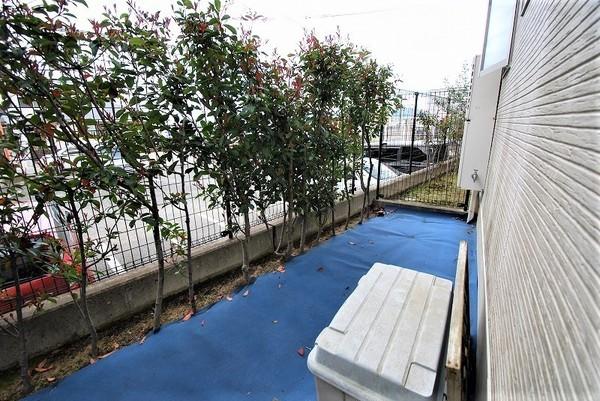 福岡市南区桧原2丁目の中古一戸建の庭画像